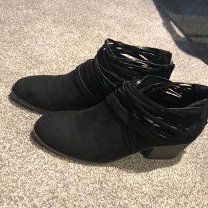 Black Fergalicious Booties
